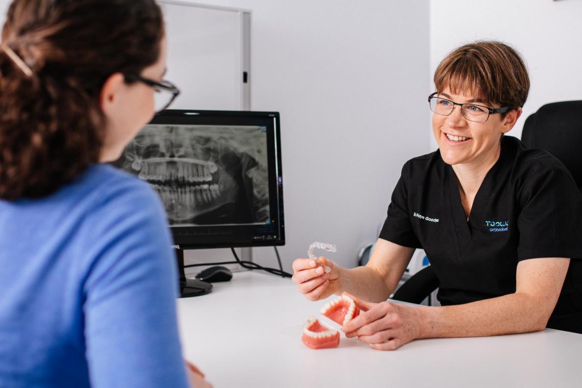 Faye Goodyear from Toowong Orthodontics providing specialist advice on orthodontic treatment Brisbane